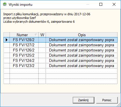 import dokumentów