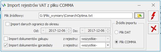 comarch optima txt